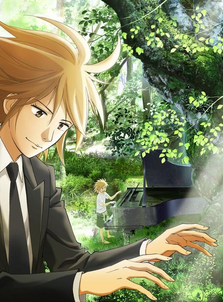 Douze épisodes pour la série animée de Piano Forest (Piano no Mori)