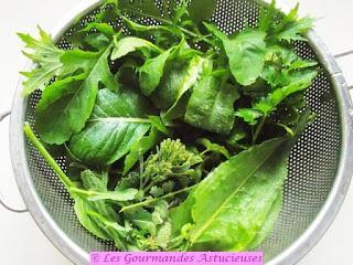 Salade vitaminée de début de printemps