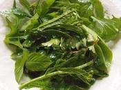 Salade vitaminée début printemps