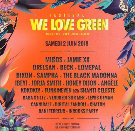 Le festival «We love green» édition 2018