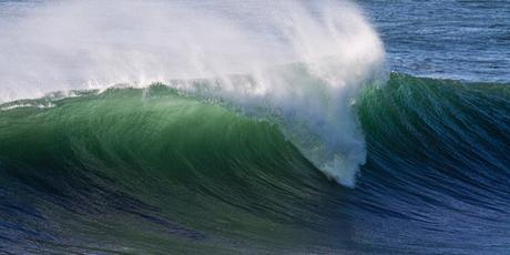 Parfois la vague n'atteint pas la dune ...