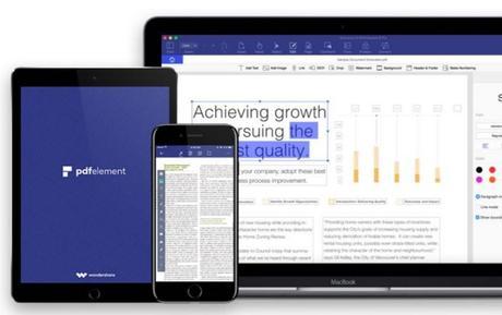 PDFelement : un puissant éditeur PDF sur iOS & Android