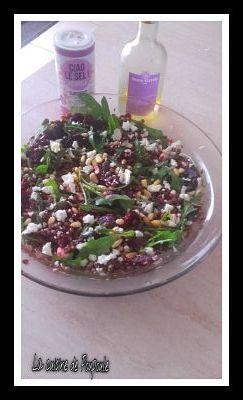 Salade de Lentilles et betteraves roties