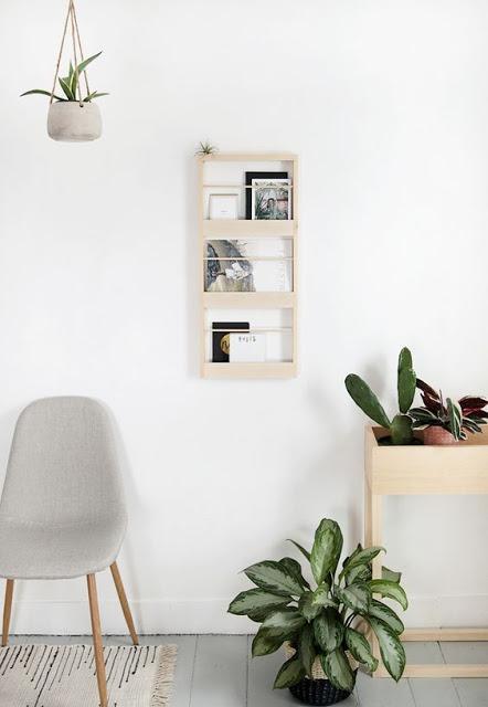 For my home #28 / 15 idées d'étagères en bois clair /