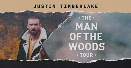 Justin Timberlake : The Man Of The Woods Tour - Une 3ème et ultime date de Concert à Paris