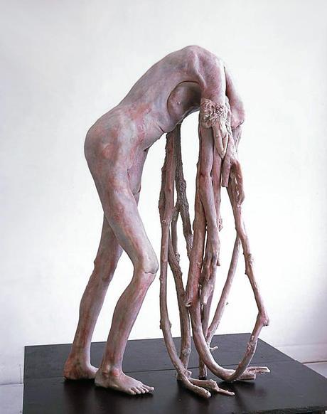 erlinde-de-bruyckere,sculpture,roots