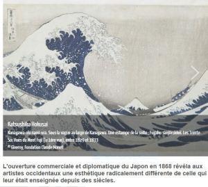 « JAPONISMES/IMPRESSIONNISMES « à Giverny  30 Mars au 15 Juillet 2018