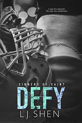 Mon avis sur le sulfureux Defy de LJ Shen , le prequel de la saga Sinners of Saint