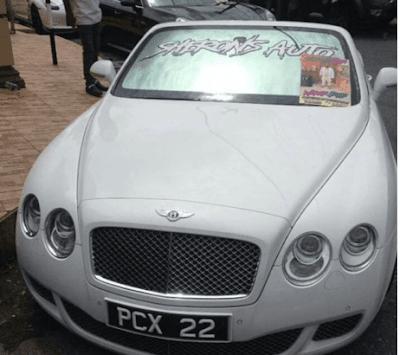 Millionnaire enterré avec ses bijoux, Timberland et Bentley [PHOTOS]