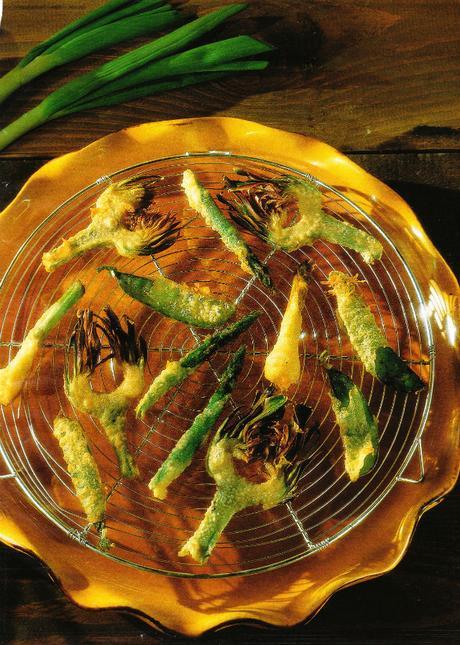 Légumes croquants en friture légère