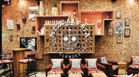 La Mezcaleria, le bar clandestino du 1K Paris
