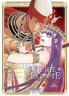 Reine d'Egypte tome 3 de Chie Inudho