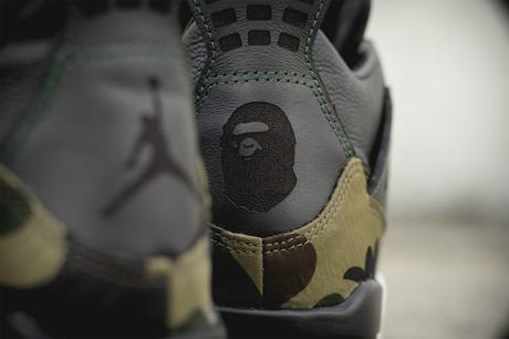 Nike Air Jordan 4 x Bape Gortex By BespokeIND