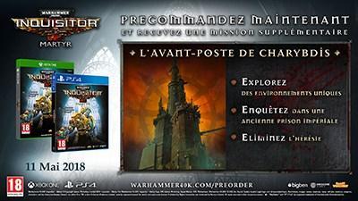 precommande warhammer 40,000 inquisitor Martyr