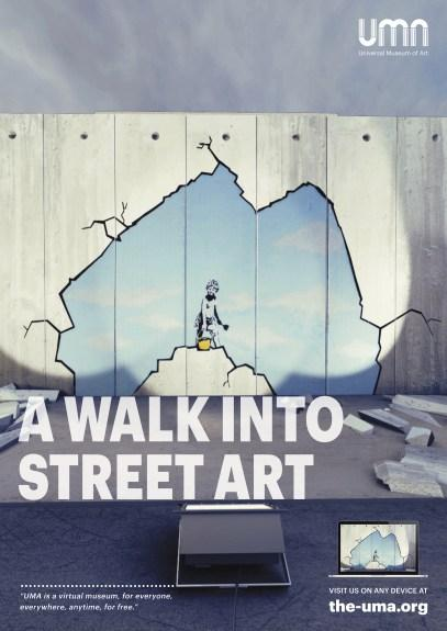 Universal Museum of Art (UMA) offre une seconde exposition virtuelle consacrée aux plus grands chefs-d'œuvre du Street Art