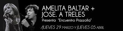 Amelita Baltar et José Angel Trelles au Torquato Tasso demain soir [à l'affiche]