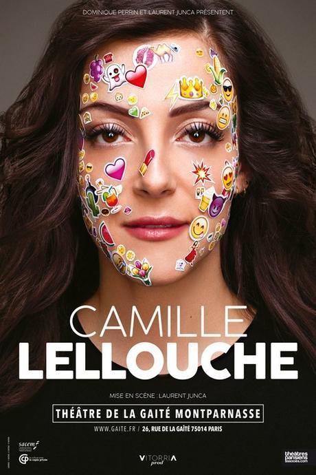 Camille Lellouche - Camille en Vrai à La Gaîté Montparnasse à Paris les Dimanche et Lundi