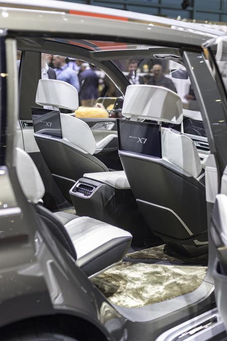 BMW X7 - intérieur