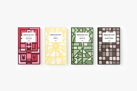Le packaging Chocolat the [City] par le studio Rong Design