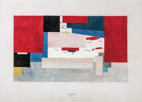 El Lissitzky et Malevitch, Comite de lutte / Tretiakov / Exposition Vitebsk