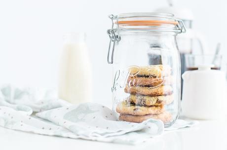Chewy Cookies au chocolat au lait