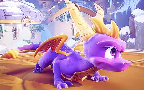 GAMING   Spyro : Un trailer officiel pour le remaster sur Xbox One et PS4 !