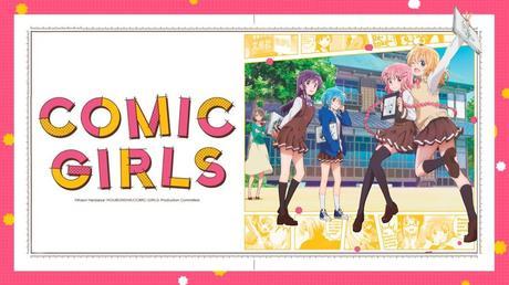 L'animé Comic Girls diffusé en simulcast VOSTFR sur Crunchyroll