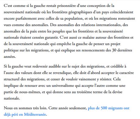 #loiasileimmigration  : et si l'on prenait un peu de hauteur ? (Merci @gemenne !)