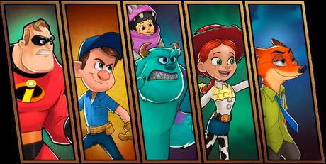 Disney Heroes: Battle Mode - Le nouveau jeu de Disney sur iPhone
