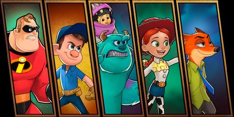 Disney Heroes: Battle Mode - Le nouveau jeu de Disney sur iPhone