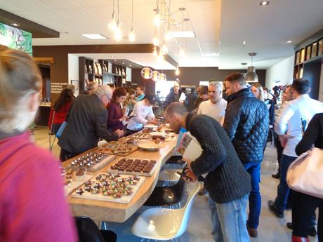 Démo produits SOSA à la Chocolate Academy