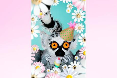 Stylish paper art by Giselle Balbar