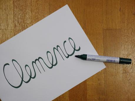 caligraphie clemence idee bullet journal original blog deco