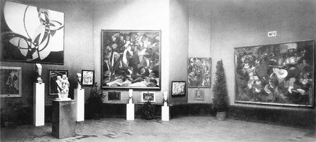 Vue du Salon d'automne de 1912