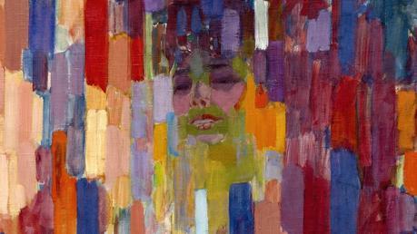 Madame Kupka parmi les verticales, 1910-1911 (détail)