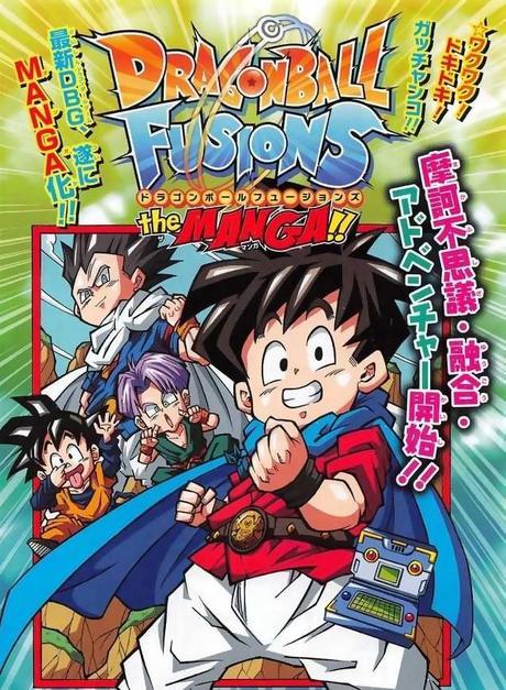 Fin de l'adaptation manga du jeu-vidéo Dragon Ball Fusion