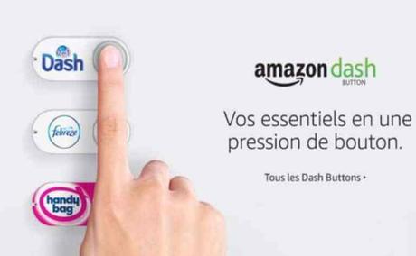 Amazon lance les boutons Dash virtuels.