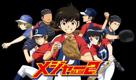 La série sur le baseball Major 2nd en simulcast VOSTFR sur Crunchyroll