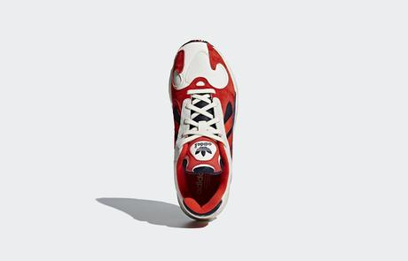 adidas Yung-1 Blue / Red : Images Officielles