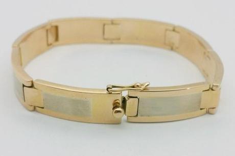 gros bracelet or