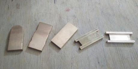 fabrication maille du gros bracelet or pour homme