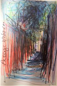 Galerie LEE  exposition NULTY « passage » jusqu'au 21 Avril 2018