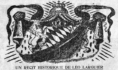 Trois illustrations de Dignimont pour 'Le roi sans reine' de Léo Larguier dans L'Intransigeant (Mai 1934)
