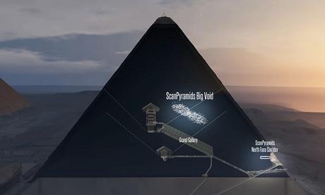 La muographie et de minuscules robots pour en savoir plus sur les cavités découvertes dans la Grande Pyramide