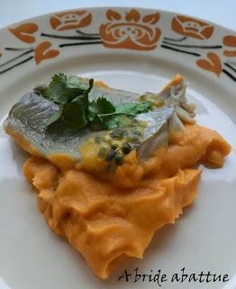 Un menu tout poisson avec Pavillon France
