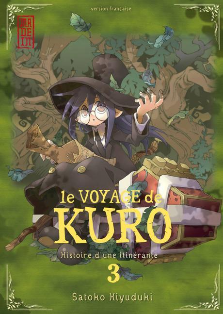 Fin datée pour le manga Le Voyage de Kuro