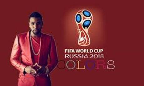 Chanteur Jason derulo interprétera la chanson colors pour l'hymne officiel de la coupe du monde de football 2018