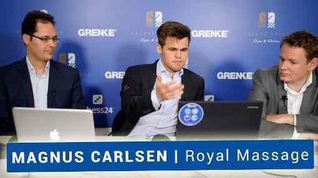 Le champion du monde d'échecs Magnus Carlsen va-t-il réaliser un massage positionnel face à Viswanathan Anand ? - Photo © site officiel