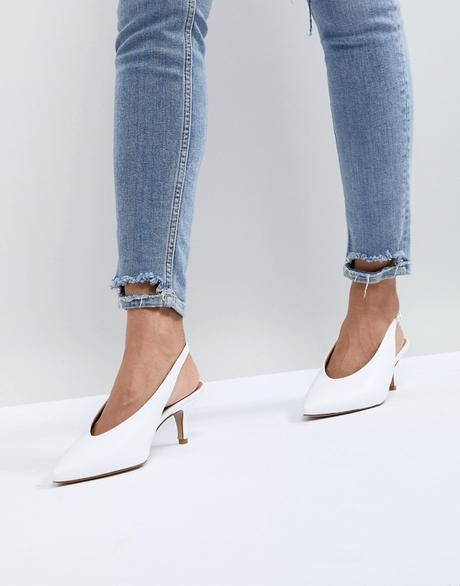 La slingback : la it shoe de l'été 2018 !