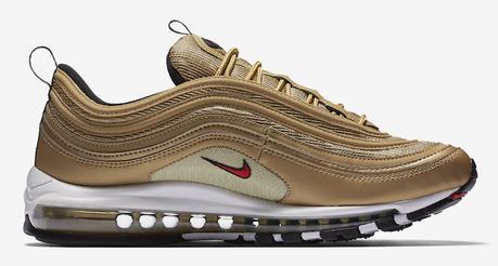 La Nike Air Max 97 OG Metallic Gold sera de retour en Mai